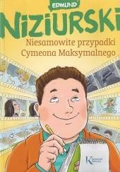 Okładka książki Niesamowite przypadki Cymeona Maksymalnego Edmund Niziurski