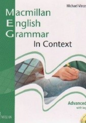 Okładka książki Macmillan English Grammar in Context Advanced Michael Vince