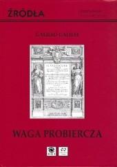 Okładka książki Waga probiercza