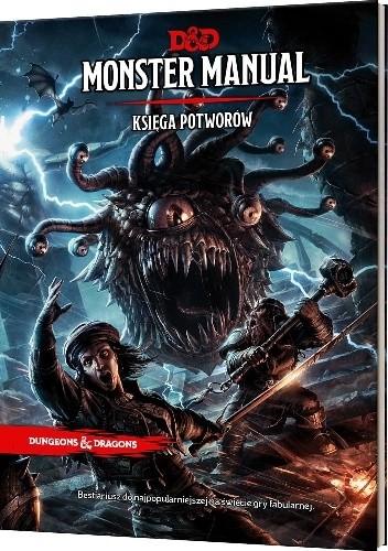 Okładka książki Dungeons & Dragons: Monster Manual (Księga Potworów) praca zbiorowa