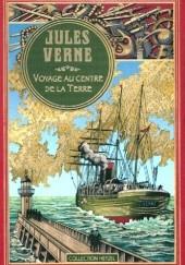 Okładka książki Voyage au centre de la terre. Juliusz Verne