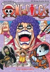 Okładka książki One Piece tom 56 - Dziękuję Ci Eiichiro Oda
