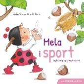 Okładka książki Mela i sport, czyli bieg z przeszkodami Aleix Cabrera