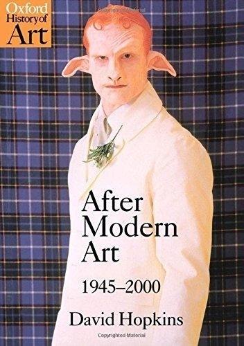 Okładka książki After Modern Art: 1945-2000 David Hopkins