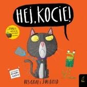 Okładka książki Hej, kocie! Kes Gray,Jim Field