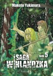 Okładka książki Saga Winlandzka #5 Makoto Yukimura
