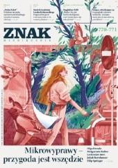Okładka książki Znak 770-771 7-8/2019: Mikrowyprawy - przygoda jest wszędzie Redakcja Miesięcznika ZNAK