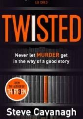 Okładka książki Twisted Steve Cavanagh