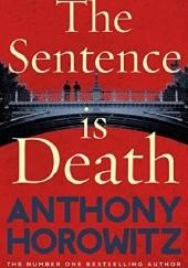 Okładka książki The Sentence is Death Anthony Horowitz