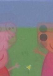 Okładka książki Peppa Pig. Ruchome obrazki. Kto skoczy wyżej? Agnieszka Ostojska-Badziak