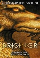 Okładka książki Brisingr Christopher Paolini