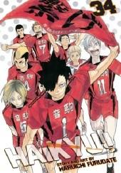 Okładka książki Haikyu!! vol. 34 Haruichi Furudate