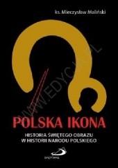 Okładka książki Polska ikona Mieczysław Maliński