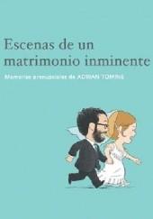 Okładka książki Escenas de un matrimonio inminente Adrian Tomine
