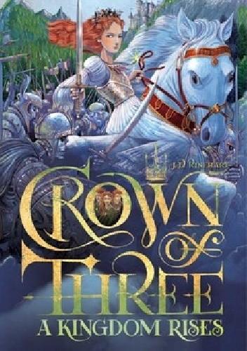 Okładka książki A kingdom rises J. D. Rinehart