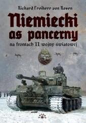 Okładka książki Niemiecki as pancerny na frontach II wojny światowej Richard Freiherr von Rosen