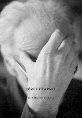 Okładka książki Józef Czapski. Książka do pisania Mikołąj Nowak-Rogoziński