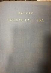 Okładka książki Ludwik Lambert Honoré de Balzac