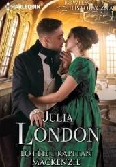 Okładka książki Lottie i kapitan Mackenzie Julia London