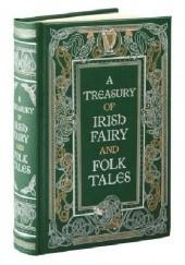 Okładka książki A Treasury of Irish Fairy and Folk Tales praca zbiorowa