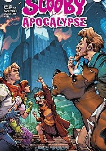 Okładka książki Scooby Apocalypse #12 Jim Lee