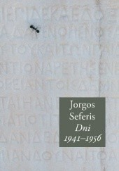 Okładka książki Dni 1941-1956 Jorgos Seferis
