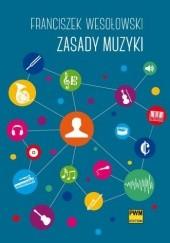 Okładka książki Zasady muzyki Franciszek Wesołowski