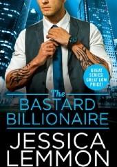 Okładka książki The Bastard Billionaire Jessica Lemmon
