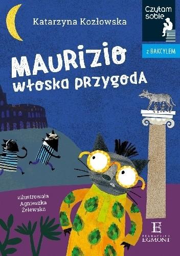 Okładka książki Maurizio. Włoska przygoda Katarzyna Kozłowska