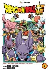 Okładka książki Dragon Ball Super #7: Walka o przetrwanie! Początek Wielkiego Turnieju Mocy! Akira Toriyama,Toyotarou