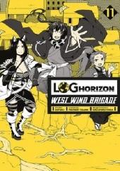 Okładka książki Log Horizon - West Wind Brigade #11 Mamare Touno,Koyuki