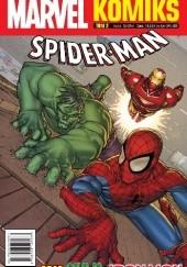 Okładka książki Marvel Komiks 2/2019 Spider-man Alvin Lee,Paul Tobin,Jeff Parker,Manuel Garcia,Matteo Lolli,Scott Koblish