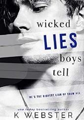 Okładka książki Wicked Lies Boys Tell K. Webster