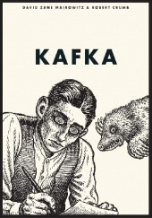 Okładka książki Kafka Robert Crumb,David Zane Mairowitz