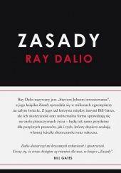Okładka książki Zasady Ray Dalio