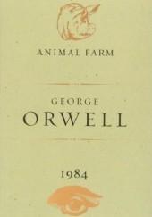 Okładka książki Animal Farm and 1984 George Orwell