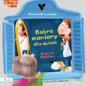 Okładka książki Dobre maniery dla dzieci. Rodzina Wafelków Joanna Krzyżanek