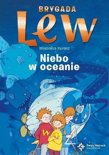 Okładka książki Niebo w oceanie Weronika Kurosz