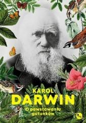 Okładka książki O powstawaniu gatunków Karol Darwin