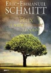 Okładka książki Félix i niewidzialne źródło Éric-Emmanuel Schmitt