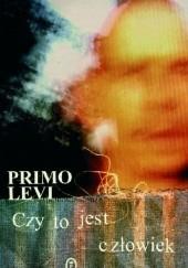 Okładka książki Czy to jest człowiek Primo Levi
