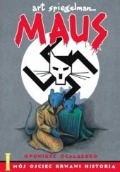 Okładka książki Maus: Mój ojciec krwawi historią Art Spiegelman