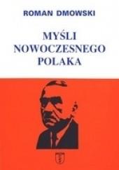 Okładka książki Myśli nowoczesnego Polaka Roman Dmowski