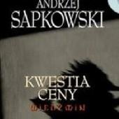 Okładka książki Kwestia ceny Andrzej Sapkowski