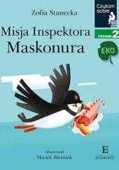 Okładka książki Misja Inspektora Maskonura Zofia Stanecka,Maciek Blaźniak