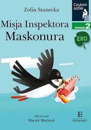 Okładka książki Misja Inspektora Maskonura Maciek Blaźniak,Zofia Stanecka