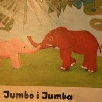 Okładka książki Jumbo i Jumba Ries Werner