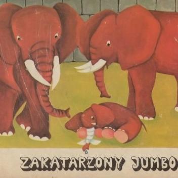 Okładka książki Zakatarzony Jumbo Ries Werner