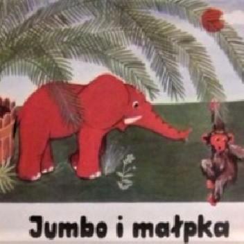 Okładka książki Jumbo i małpka Ries Werner