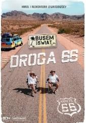 Okładka książki Busem przez świat. Droga 66 Karol Lewandowski,Aleksandra Lewandowska